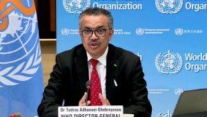 WHO Director-General Tedros Adhanom Ghebreyesus (File Photo / Picture Courtesy: AFP)