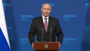 Beyond a good photo-op, Russian President Putin deemed the Geneva Summit as 'constructive' (Image source: AFP)