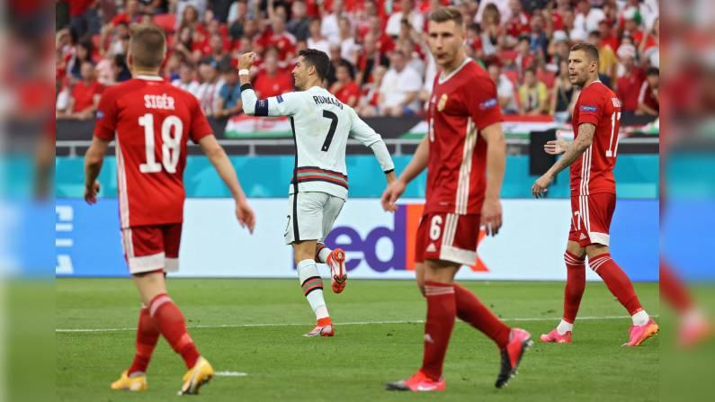 Euro 2020 Portugal Vs Hungary Live Updates Ronaldo Scores Twice As Portugal Beat Hungary 3 0 News9 Live