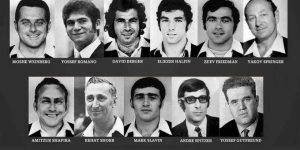 The 11 Israel squad members who were killed in the 1972 Olympics. Photo Credit: Twitter