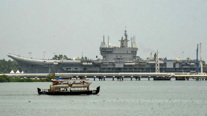 Rajnath Singh's Visit To Southern Naval Command